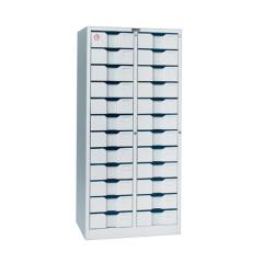 24 door combination lock steel filing storage cabinet
