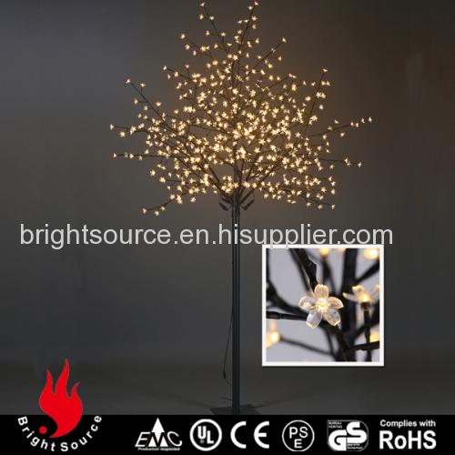 8Ft Warm White Cherry Christmas Tree Light