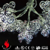 10L silver iron butterfly cold white LED string decorative light