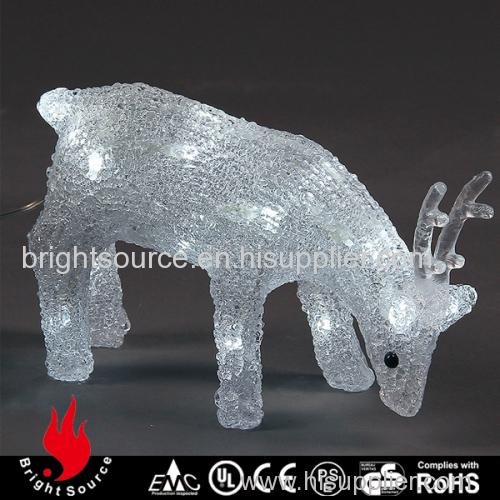 cheap toy acrylic lights deer