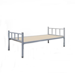 2015 new product easy operation single metal beds for sale
