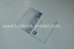 250gsm matt lamination cover clothing pamphlet softcover book
