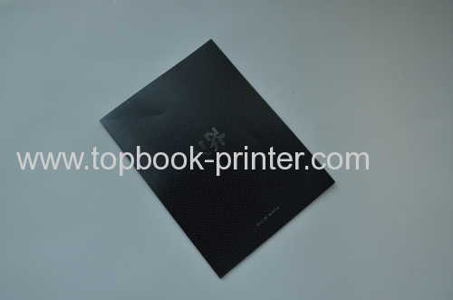 Print 160pt silver stamping cover clothes magazine on demands