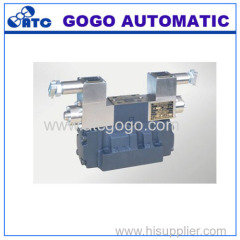 Explosion isolation electro-hydraulic directional control valve