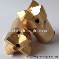 Manufacture hardness tapered cross bits