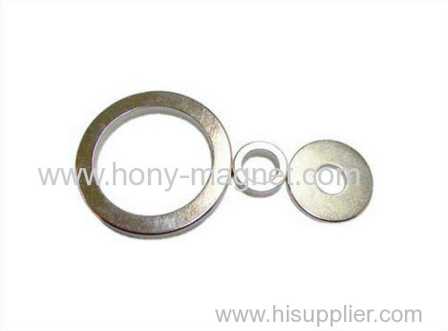 N42 strong ring round magnets Ni coating magnets