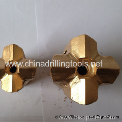 ISO certificate hardness taper cross drill bit rocks
