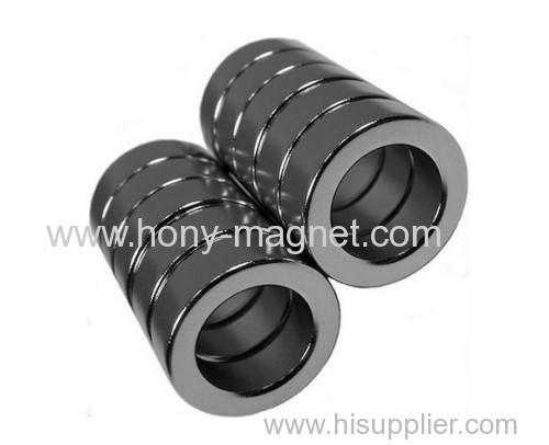 RoHS N35 disc ring neodymium magnet for DC motor