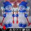 ice sculpture skee snowman