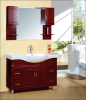 120CM solid wood bathroom cabinet floor stand archaistic cabinet vanity for sale