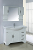 120CM solid wood bathroom cabinet on floor cabinet vanity for sale
