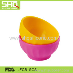 High quality silicone children bowl