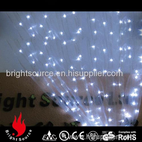 Fantastic wedding curtain lights