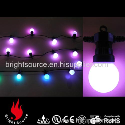 Led globe lights christmas