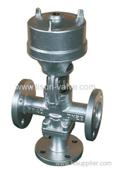 welded joint control valve