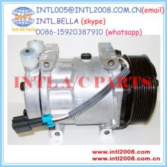 A/C air Compressor SD7H15 Sanden 4822 3551405C1 3551405-C1 CO 4822C for International Navistar Kenworth Peterbilt Volvo