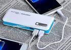 Dual output rechargeable polymer cell Portable Power Bank 14000mah for smartphone
