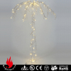 Crystal Beads Artificial Christmas Tree With Led Lights