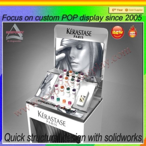 Cosmetic Exhibition Stand Design : Hot sale exhibition cosmetic display stand design rp