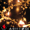 Battery operated 20 led pearl lights good for wedding party home holiday decoration