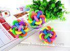 Colorful ball toy , Pet dog toys for german shepherds 6.5cm , 8.5cm