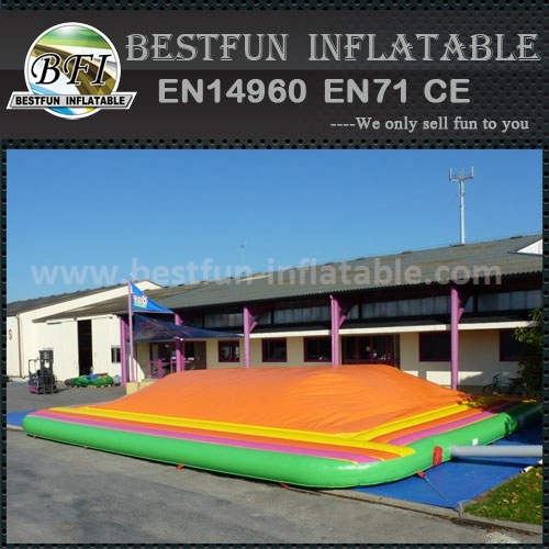 Air bags inflatable jumping bouncer