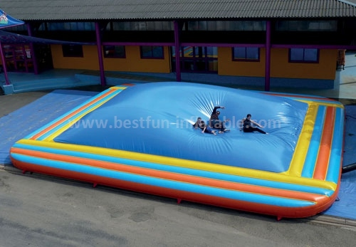 Inflatable Coconut Palm Mountain Jumping Bed