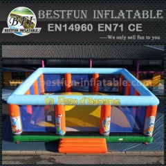 Inflatable climbing air mountain