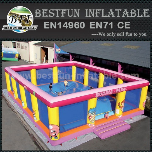 Large outdoor inflatable soft mountain