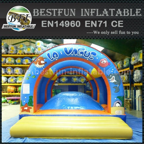 Inflatable soft mountain for kids