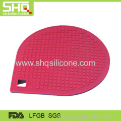 Water drop shape silicone mat