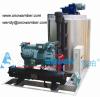 China 2.5T Per Day Seawater Flake Ice Evaporator Ice Making Machine