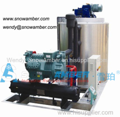 5Ton freshwater/seawater flake ice machine for fishing industry 2014 china