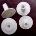 Nylon Single Coaxial Cable Bushing White