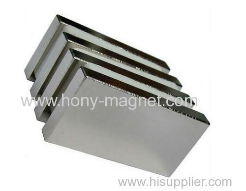 Block Magnet; Free Sintered Neodymium Magnet; Magnet for Motor