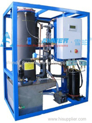 2ton/day Small tube ice machine for coffee shop,bar,and hotel