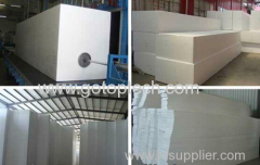 eps panel machine or styrofoam block machine or styrofoam panel machine