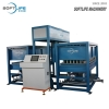 Auto Spring Shaping Hole's Foam Machine