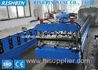 IBR Metal Roof Profile / Wall Panel Roll Forming Machine Grade 45 Steel Roller