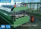 Aluminium PBR / PBU Roof Panel Roll Forming Machine with Manual Uncoiler