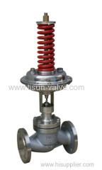 self pressure control valve