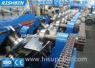 20 m / min Cee Zee Purlin Roll Forming Machine Hydraulic Punching 20 KW