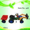 Ride on Car Toy with Forklift and Trailer 418