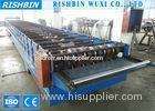Galvanized Steel Deck Roofing Sheet Roll Forming Machine with Chain Transmission