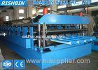 Custom Color Steel Deep Metal Deck Roll Forming Machine with Cr12 Quenched Cutter