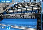 High Frequency Floor Metal Deck Roll Forming Machine with 45 # Steel
