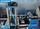 Automatic Structural Steel Cold Roll Forming Line Adjustable Punching Holes Sizes