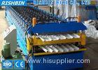 PPGI Double Layer Metal Roof Panel Roll Forming Machine 76 mm Shaft Diameter