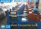 Structural Steel Metal Roll Forming Machinery Post Cutting With Cut Off Saw