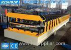 Cassette Stations Trapezoidal Metal Roof Panel Roll Forming Machine Imperial Rib